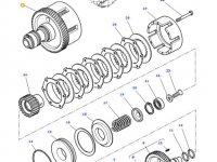 Муфта включения вала отбора мощности (ВОМ) трактора Massey Ferguson — 4302134M19