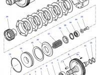 Муфта включения вала отбора мощности (ВОМ) трактора Massey Ferguson — 4302136M18