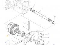 Муфта включения вала отбора мощности (ВОМ) трактора Massey Ferguson — 4302180M19