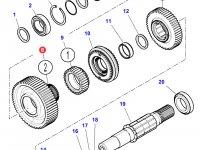 Шестерня передачи 2 КПП трактора Massey Ferguson — 4302423M2