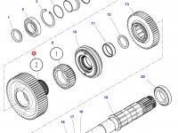 Шестерня передачи 2 КПП трактора Challenger (55 зубьев) — 4302509M4