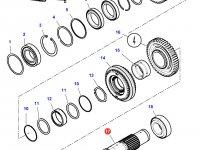 Промежуточный вал КПП трактор Challenger — 4302815M2