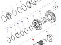 Промежуточный вал КПП трактор Challenger — 4302815M6