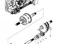 Вал отбора мощности (ВОМ) трактора Massey Ferguson — 4302910M91