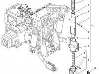 Шарнирная головка/винт раскоса навески трактора Challenger — 4304335M91