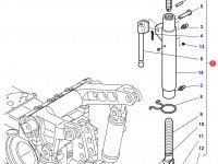 Центральный винт задней навески трактора Challenger (605/845 мм) — 4304391M91