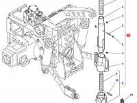 Раскос навески трактора Challenger — 4304417M92