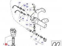 Масляный фильтр гидравлической системы трактора Massey Ferguson» — 4305928M91