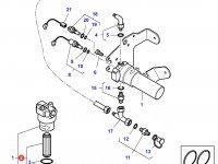 Гидравлический фильтр 15 микрон трактора Challenger — 4305928M91