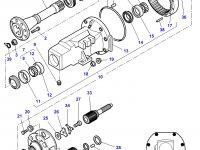 Сальник бортового редуктора заднего моста трактора Challenger — 4305964M1