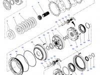 Планетарная передача мультипликатора КПП трактора Massey Ferguson — 4312056M2