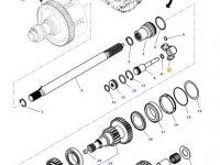 Вилка включения муфты ВОМ трактора Massey Ferguson — 4312057M1