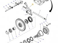 Вилка включения муфты ВОМ трактора Massey Ferguson — 4312305M1