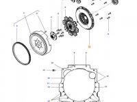 Корзина диска сцепления КПП трактора Massey Ferguson — 4312451M1