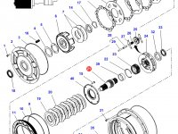 Вал мультипликатора КПП трактор Challenger — 4312727M2