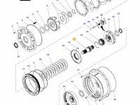 Вал мультипликатора КПП трактора Massey Ferguson — 4312727M3