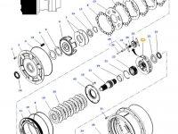 Планетарная передача мультипликатора КПП трактора Massey Ferguson — 4312729M1