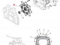 Демпфер крутильных колебаний трактор Challenger — 4312901M5