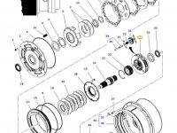 Планетарная передача мультипликатора КПП трактора Massey Ferguson — 4313005M4