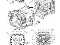 Крышка КПП трактора Massey Ferguson (DYNA 6) — 4313769M12