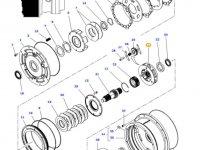 Планетарная передача мультипликатора КПП трактора Massey Ferguson — 4314100M1