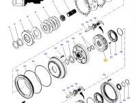 Планетарная передача мультипликатора КПП трактора Massey Ferguson — 4314101M2