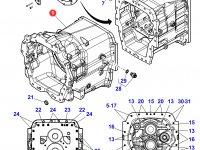 Картер КПП трактора Massey Ferguson(с серийного номера D060028) — 4314419M1