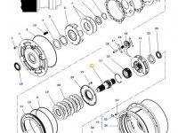 Вал мультипликатора КПП трактора Massey Ferguson — 4314525M2