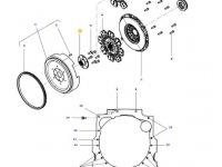 Торсионный демпфер сцепления трактора Massey Ferguson — 4314621M3