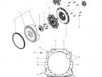 Корзина диска сцепления КПП трактора Massey Ferguson — 4314663M1
