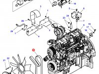 Ремень генератора трактора Challenger (2040 мм) — 4348738M1