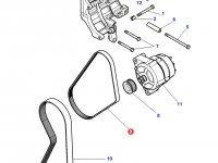 Ремень генератора трактора Challenger (1143 мм) — 4350583M1