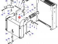 Интеркулер двигателя Sisu Diesel трактора Massey Ferguson — 4350752M1