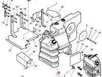 Топливный бак трактора Massey Ferguson — 4351173M92