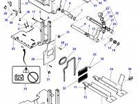 Топливный бак трактора Challenger (№48) — 4351175M95