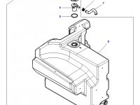 Дополнительный топливный бак трактора Massey Ferguson — 4351175M97