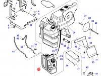 Топливный бак трактора Challenger (№04) — 4351903M96