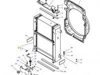 Радиатор двигателя трактора Massey Ferguson (Водяной радиатор+интеркулер) — 4352342M97
