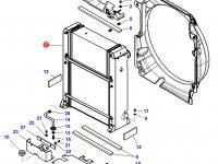 Радиатор двигателя трактора Challenger — 4352863M95