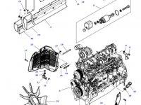 Вискомуфта вентилятора радиатора двигателя трактора Massey Ferguson — 4355175M1