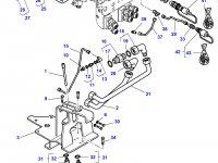 """Муфта гидравлическая быстроразъемная трактора Massey Ferguson (тип """"папа"""") — 4355297M1"""