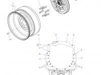 Торсионный демпфер сцепления трактора Massey Ferguson — 4358031M1