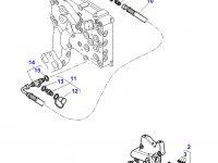 Фильтр гидравлического масла трактора Massey Ferguson» — 4358077M1