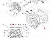 Картер КПП трактор Challenger — 4358592M3