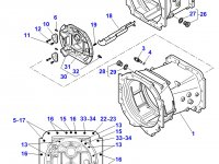 Картер КПП трактора Massey Ferguson — 4358606M11