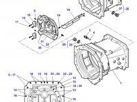 Картер КПП трактор Challenger — 4358606M11