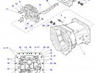 Картер КПП трактор Challenger — 4358606M12