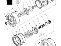 Вал мультипликатора КПП трактора Massey Ferguson — 4358923M6