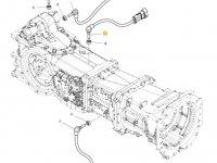 Датчик скорости оборотов ВОМ трактора Massey Ferguson (Длина 60 мм) — 4359944M1