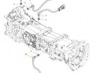 Датчик скорости оборотов ВОМ трактора Massey Ferguson (Длина 75 мм) — 4359947M1
